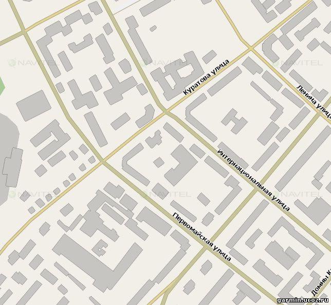 Бесплатная GPS-карта всей