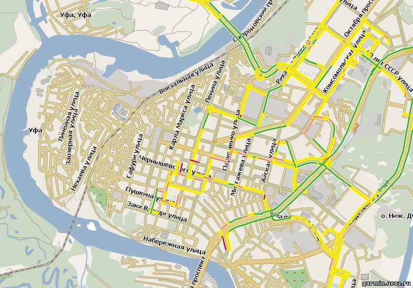 Бесплатная GPS карта всей